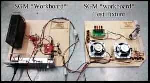 SGM test fixture